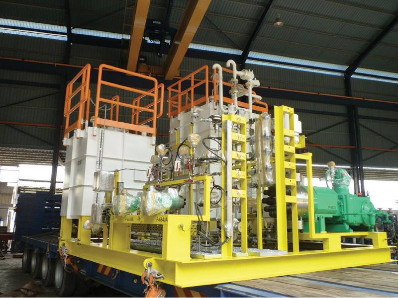 EPCC For BNJT-K And TTJT-A Wellhead Platforms