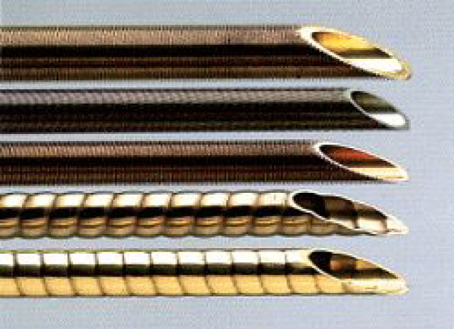 Low Fin Tubes & Corrugated Tubes